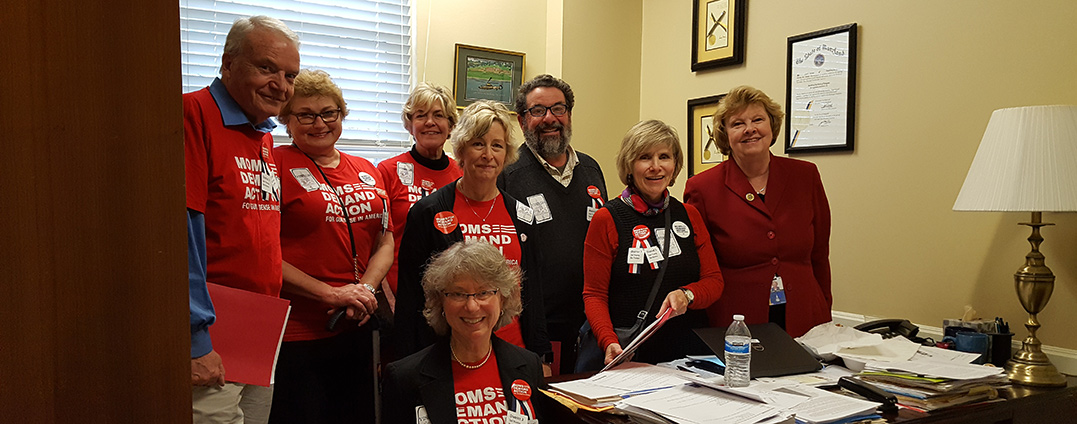 Carol Krimm with Moms Demand Action